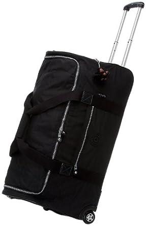 "Kipling Canyon 30"" Wheeled Duffel Bag, Black, One Size"