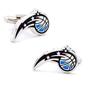 NCAA Officially Licensed Silver Cufflinks by Brookstone