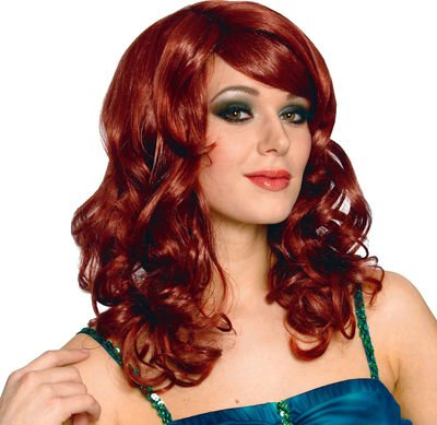 Lolita Wig in Natural Red