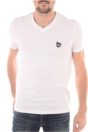 Redskins -  T-shirt - Collo a V  - Maniche corte  - Uomo bianco M