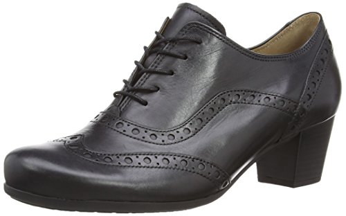 Gabor - Denver, Scarpa da donna, Black Leather, 9.5 UK (44 EU)