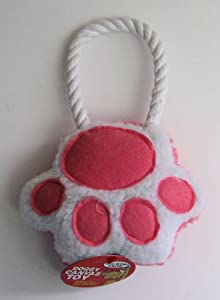 Pink Paw Rope Pet Toy