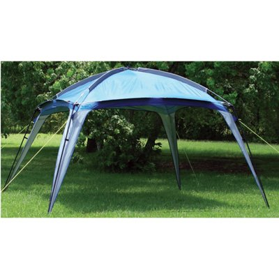 Outdoor Camping Canopy Shade Gazebo with Dome Top Party Tent Folding Canopy (12' x 12' x 82')
