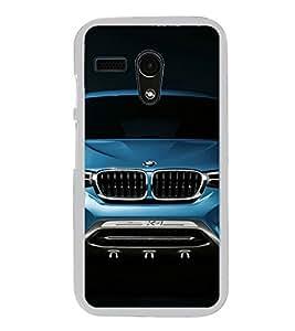 Luxury Car 2D Hard Polycarbonate Designer Back Case Cover for Motorola Moto G :: Motorola Moto G (1St Gen)