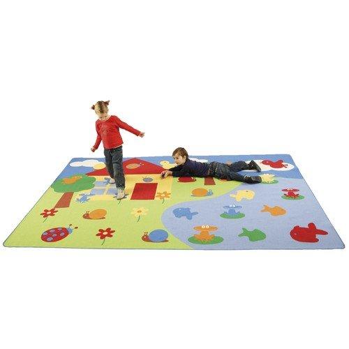 Eduplay Kinder Teppich Sortieren 200x300cm
