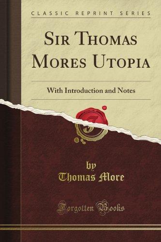 essays on sir thomas more utopia