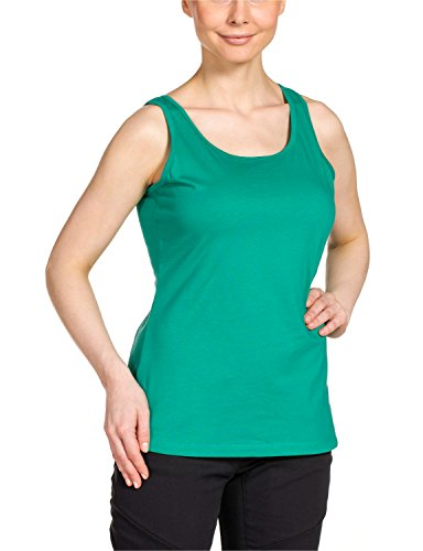 Jack Wolfskin Damen Shirt Lismore OC Top W, Deep Mint, XXL, 1803741-4071006