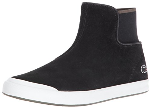 Lacoste Women's Lancelle Chelsea 416 1 Spw Fashion Sneaker, Black, 6.5 M US