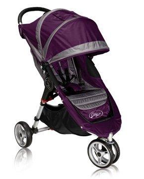 Baby Jogger City Mini Single Stroller - Purple/Gray (2012) front-79242
