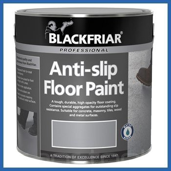 Blackfriar Anti Slip Floor and Step Safety Paint Light Grey - 1 Litre
