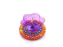 Amba Handicraft Floating Diwali Pooja Diya for Gift/Special Home Décor -03