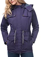 Lighthouse Chaqueta Impermeable (Morado)