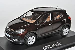 opel mokka braun suv ab 2012 1 43 minichamps modell auto mit. Black Bedroom Furniture Sets. Home Design Ideas
