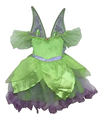 Disney Store Girls Tinkerbell Costume with Wings