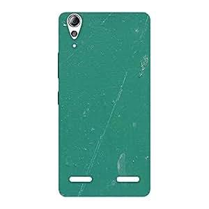 Green Paint Crack Designer Back Case Cover for Lenovo A6000 Plus
