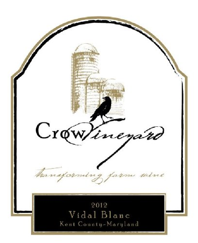2012 Crow Vidal Blanc Maryland 750 Ml
