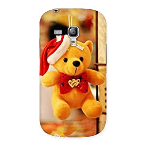AJAYENTERPRISES Teeddy Hand Bearr Back Case Cover for Galaxy S3 Mini