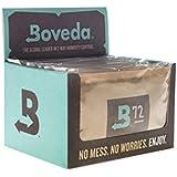 12のBoveda 72パーセント相対湿度レベル、2ウェイ·湿度制御、大規模な60グラムサイズ、数量