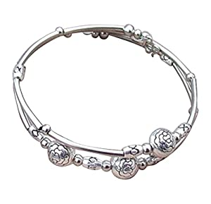 sunnyshopdayTibetan10020 Tibetan Silve hand chain bracelet Bangle jewelry sterling silver quality jewel