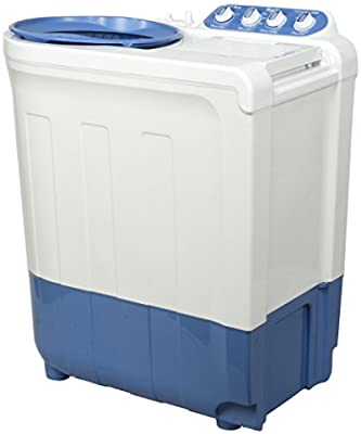 Whirlpool ACE 8.0 Supersoak Semi-automatic Top-loading Washing Machine (8 Kg, Blue)