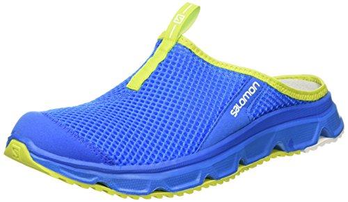 Salomon RX Slide 3.0, Ciabatte Uomo, Blu (Bright Blue/Union Blue/Gecko Green), 46 EU