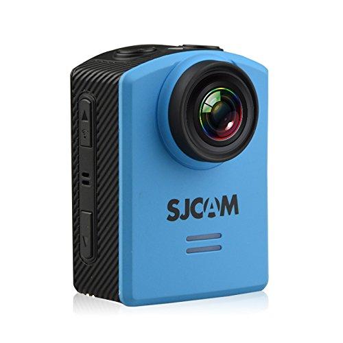 macchina fotografica di azione videocamera subacquea SJCAM M20 WiFi Sport Action Cam Sports Camera Waterproof Chipset Novatek 96660 Real 4K 24FPS Ultra HD 166Degree Wide Lens _Blue