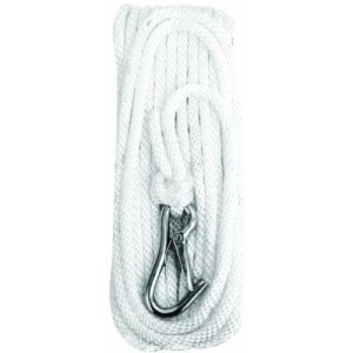Attwood Polypropylene Hollow Braid Anchor Line with Snap Hook