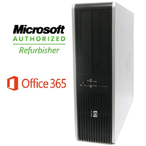 Hp Dc7800 Desktop -Microsoft Office 365-Core 2 Duo 2.0Ghz Processor- 4Gb Memory-160Gb Hard Drive- Windows 7 Professional
