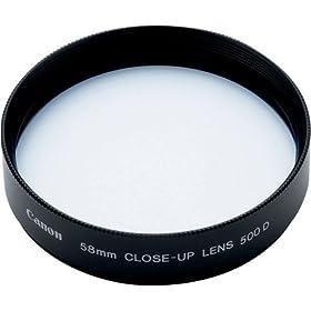 Canon - USA 58mm Close-Up Lens 500D ( 2822A002 )