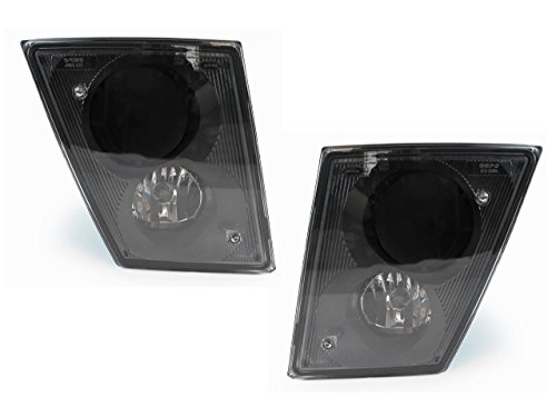 CPW (tm) 2003-2012 Volvo VN VNL Series Truck Replacement Fog Light Set without DRL (Volvo Semi Fog Lights compare prices)