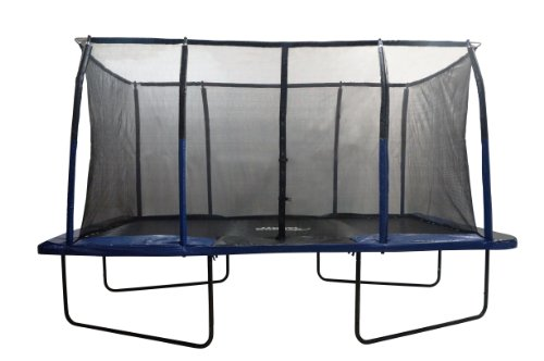 Easy-Assemble-Spacious-8-X-14-Rectangular-Trampoline-with-Fiber-Flex-Enclosure-Feature