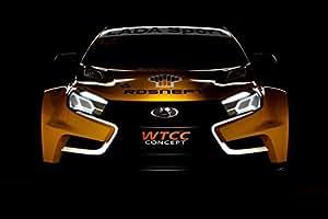 Amazon.com: Lada Vesta WTCC Concept (2014) Car Art Poster Print on 10