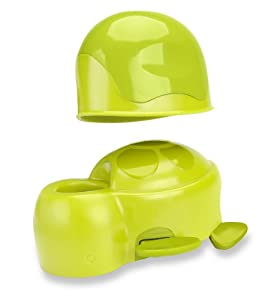 BRICA Super Spout Cover with Rinse Cup, Green