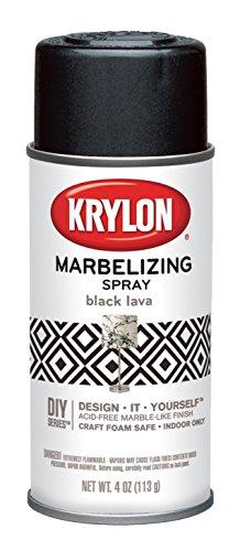 BLACK LAVA Marble Wisps Texture Finish Decor & Crafts Webbin