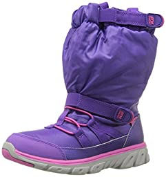 Stride Rite Girls Made 2 Play Sneaker Winter Boot (Toddler/Little Kid), Purple/Pink, 12.5 M US Little Kid