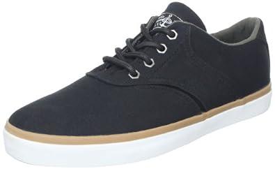Quiksilver Men's RF2 Canvas M Sneaker,Black/Gum/White,11 D US