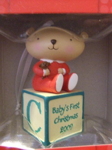 Hallmark Holiday Ornament - Baby'S First Christmas 2009 front-1081815