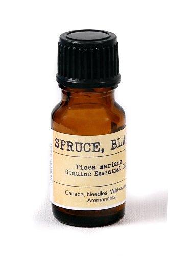 Spruce, Black Essential Oil -Picea mariana 0.35 fl oz - 10 mL (Wild crafted, Needle, Canada)