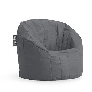 Big Joe Lumin SmartMax Fabric Chair, Monumental Grey