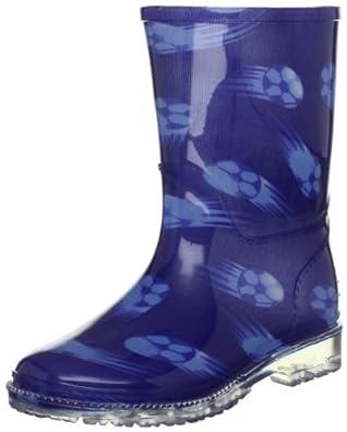 Dinosaur Hunters Footie I Blue Wellingtons Boot 0752105 6 Uk Toddler
