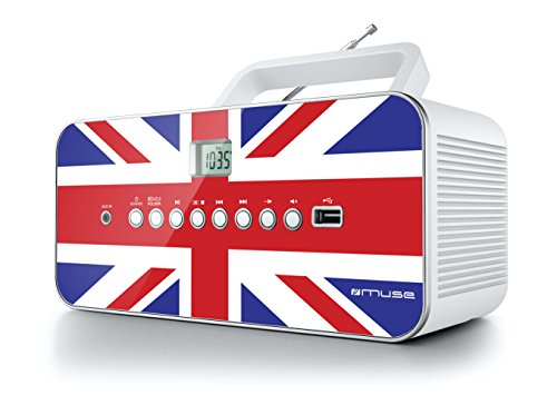 Muse M-28 UK Radio lecteur de CD/MP3 USB portable Multicolore