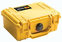 Pelican 1120 Camera Case with Foam (Yellow)
