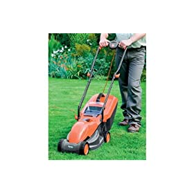 Flymo Visimo Electric Rotary Mower.