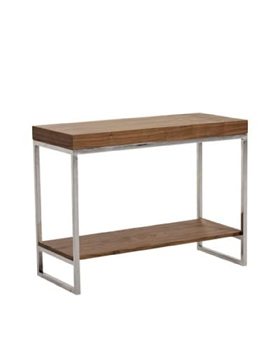 Abbyson Living Parkerview Walnut Console Table