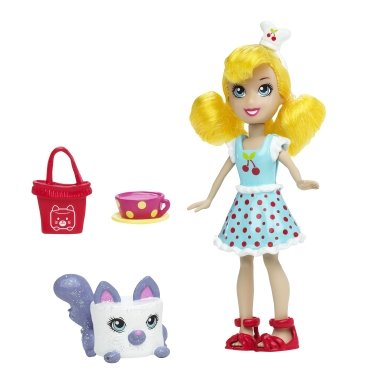 Buy Low Price Mattel Polly Pocket Polly & Meowmallow Figure (B0045JPXC2)