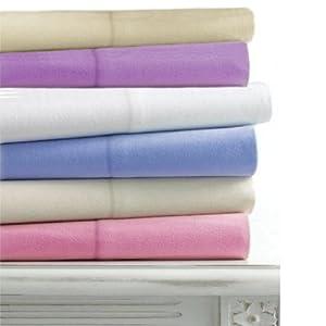 linens limited flanell bettlaken wei single einzel. Black Bedroom Furniture Sets. Home Design Ideas
