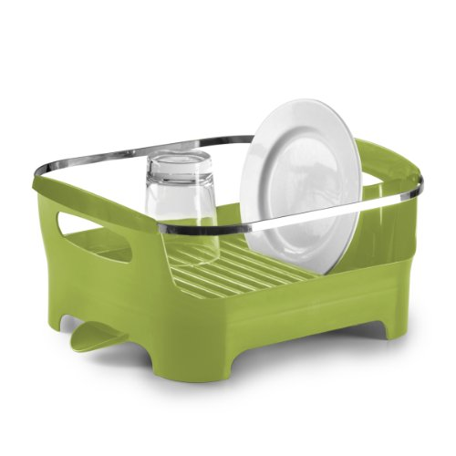 Umbra Basin Dish Drying Rack, Avocado