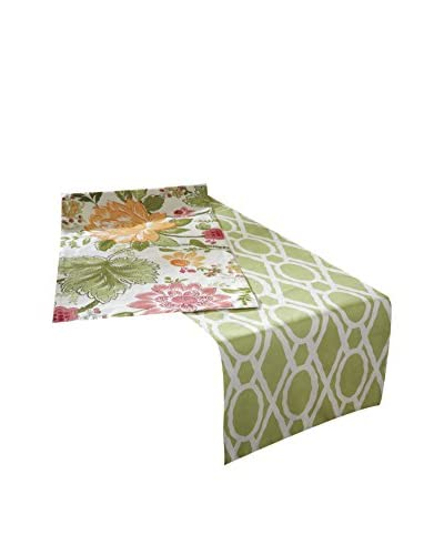 Split P Flora & Trellis Table Runner