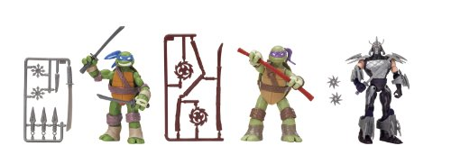 Teenage Mutant Ninja Turtles Basic Action Figure 3-Pack - Leonardo - Donatello - Shredder