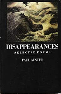 "Cover of ""Disappearances"""